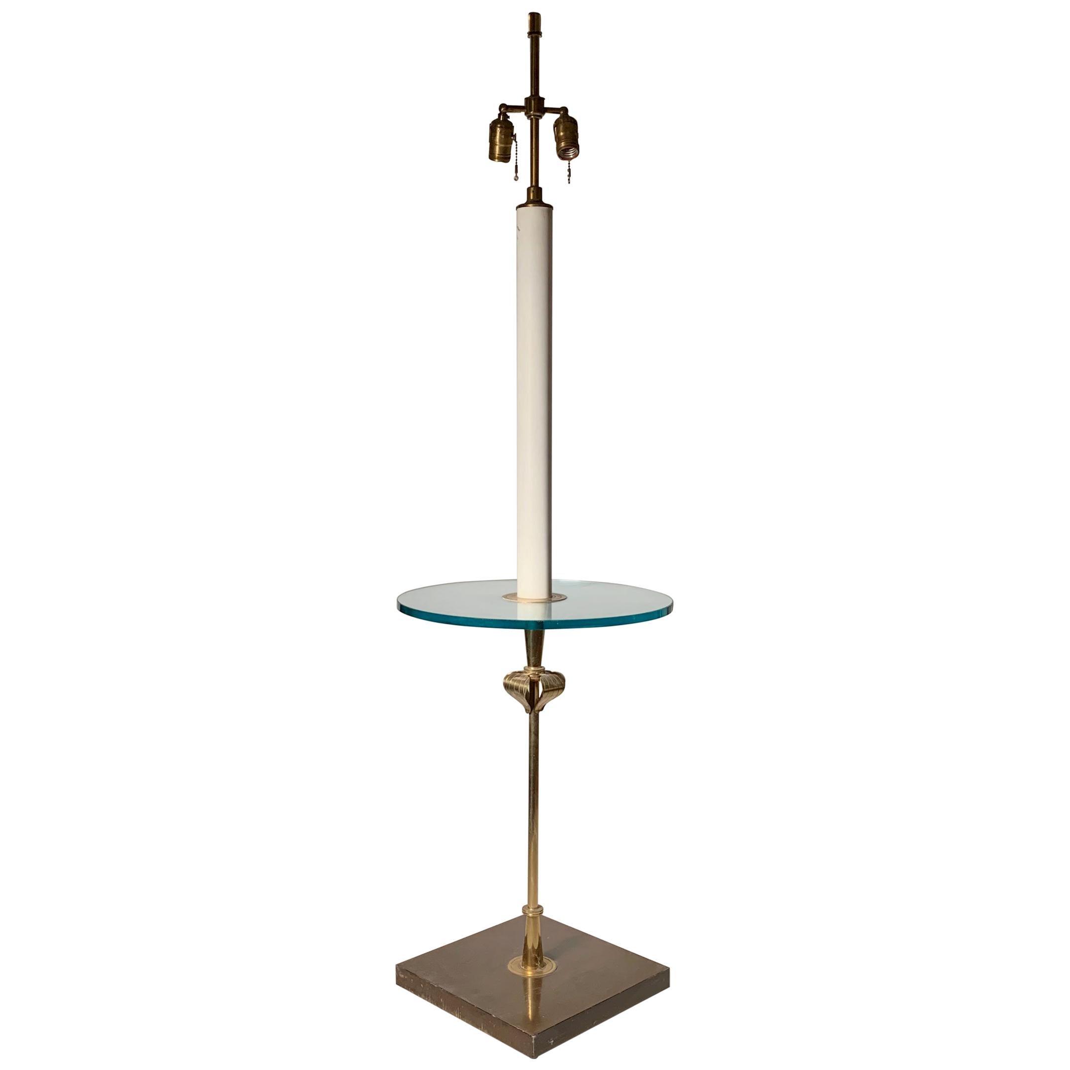 Tommi Parzinger Floor Lamp Table by Parzinger Originals