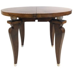1930s French Art Deco Adjustable Table