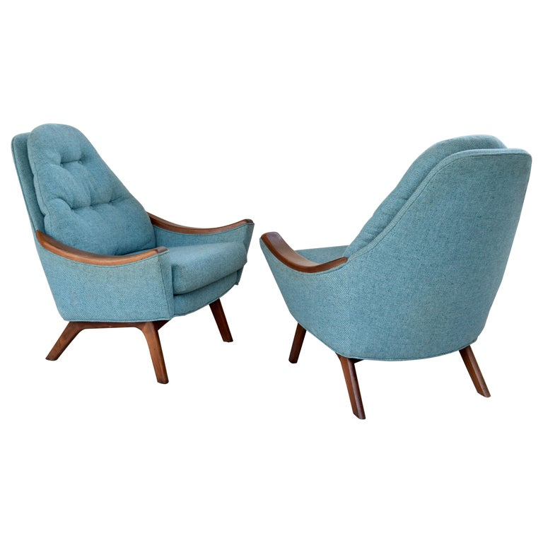 Adrian Pearsall Lounge Chairs For Sale