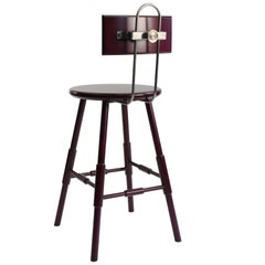 Atlantic Contemporary Counter Stool with Back