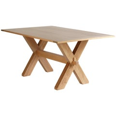 Buck Dining Table, Contemporary Dining Table by O&G Studio