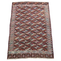 Fine Antique Yomud Main Carpet, 1890