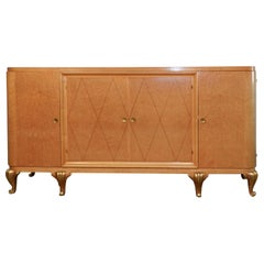 Maison Jansen, Large Art Deco Chest of Drawers with Doors Opening