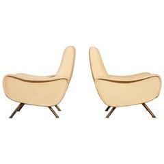Marco Zanuso Lady Chairs, Arflex, Italy, 1960s-1970s