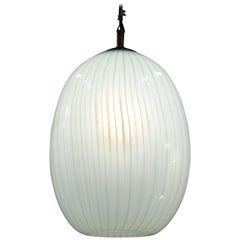 Venini, Murano Glass Pendant, Italy, 1940s