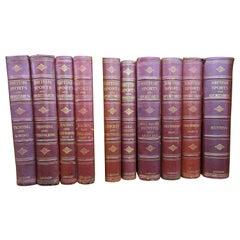 British Sports and Sportsmen '10 Volume Set' Books