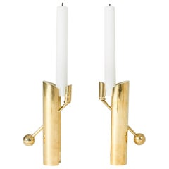 """Pair of """"Variabel"""" Candlesticks by Pierre Forssell"""