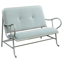 Jaime Hayon Contemporary Green Velvet Sculptural 'Gardenias' Indor Bench for BD