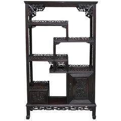 19th Century Chinese Display Cabinet
