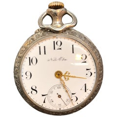 New Era New York Mechanical Pocket Watch