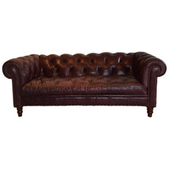 Tufted Leather Chesterfield Sofa by Century Furniture