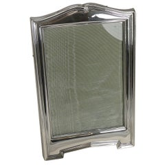 Antique English Sterling Silver Picture Frame, 1911