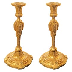 Neoclassical Candlesticks, circa 1800