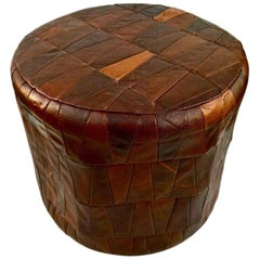 De Sede Patchwork Leather Ottoman