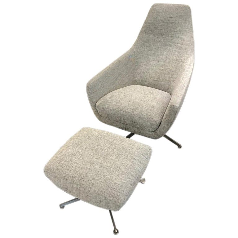Montis Swivel Enzo Lounge Armchair For Sale