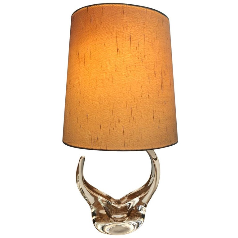 Lamp in Crystal Saint Louis For Sale