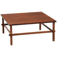 Gianfranco Frattini Rosewood 'Gio' Table for Cassina