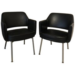 Midcentury Chairs Designed by Marc and Pierre Simon