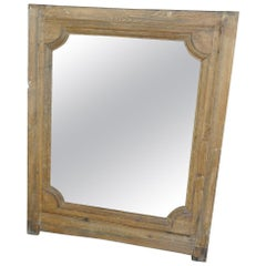 French 17th Century Louis XIV Period Frame Now as a Mirror