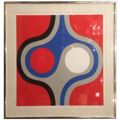 """""""Signals"""" by S. Perea, Lithograph, #64/300"""