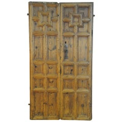Spanish 17th Century Entry Doors