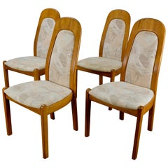 Set of 4 Danish Modern Teak Dining Chairs by Holstebro Møbelfabrik