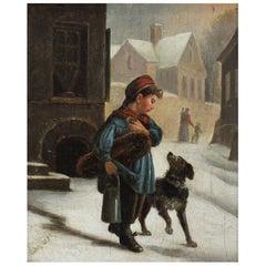Andre Henri Dargelas Painting