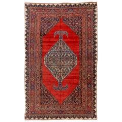 Late 19th Century Antique Bidjar Rug