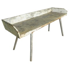 French Early 19th Century Primitive Work Table