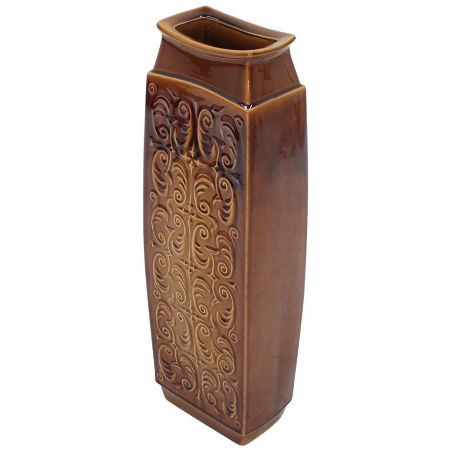 Vintage Ceramic Big Vase, 1980s