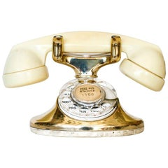 Western Electric Gold Plated Telephone Owned by Actress Paulette Goddard