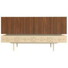 Nordic-Style Wood Sideboard Svalbard
