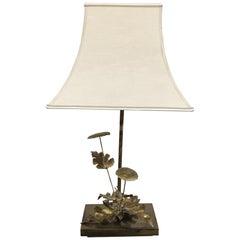 Maison Jansen Style Dandelion Table Lamp