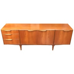 Dunvegan British Midcentury Teak Sideboard by Tom Robertson for A.H. McIntosh