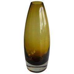 Midcentury Glass Vase by Tamara Aladin for Riihimaen Riihimaen Lasi Oy