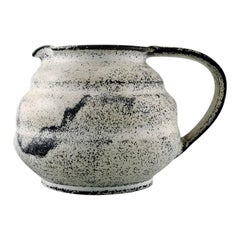 Svend Hammershøi for Kähler, HAK, Jug in Glazed Stoneware, 1930s-1940s