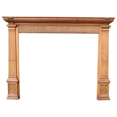 Wood Fireplaces and Mantels