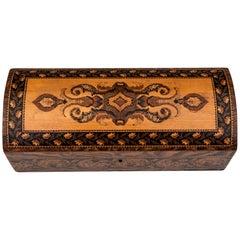Tunbridge Ware Glove Box by Edmund Nye, 19th Century