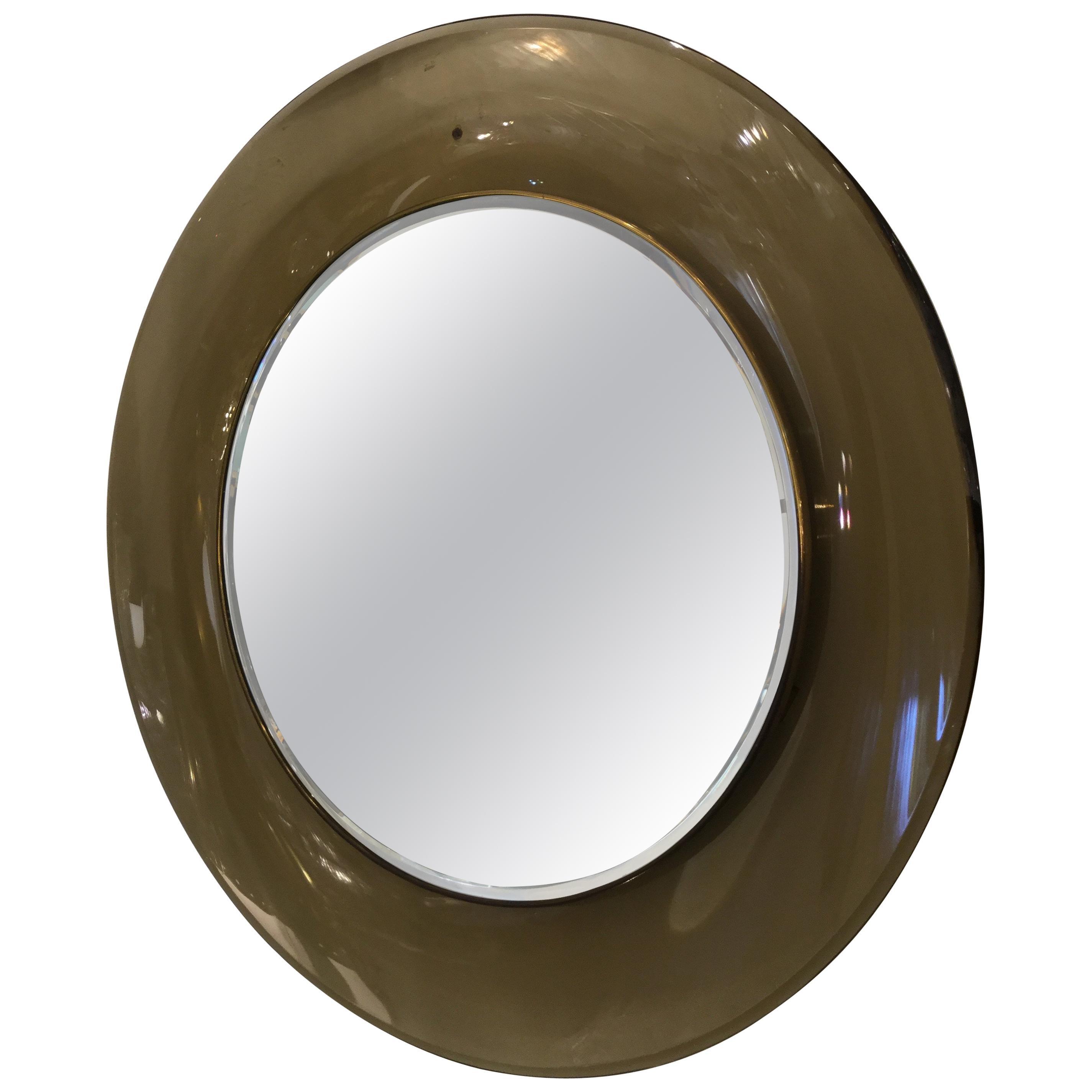 Italian Rare Mirror by Max Ingrand for Fontana Arte, Model 1699