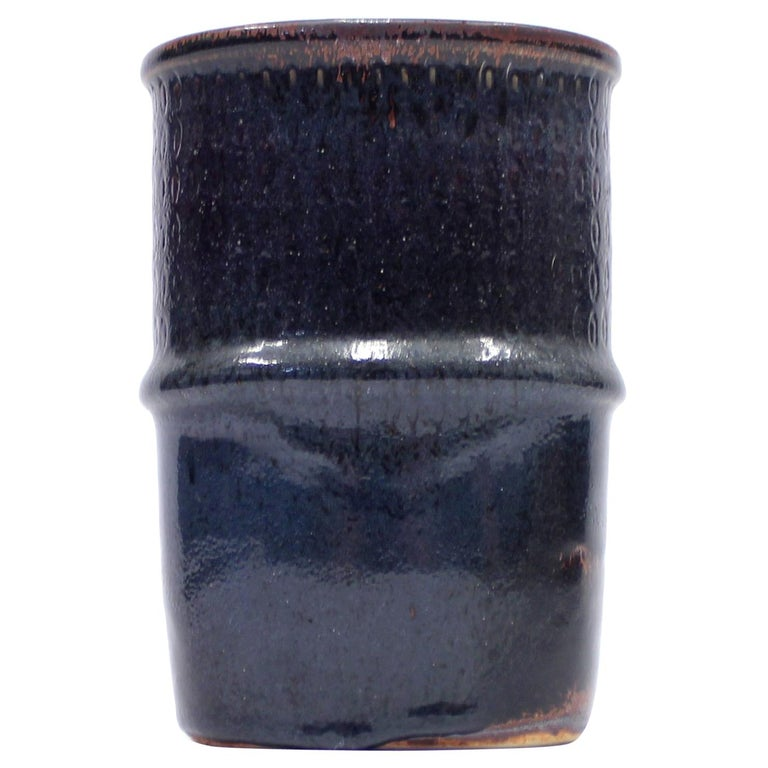 Ceramic Vase by Stig Lindberg for Gustavsberg, 1950s For Sale
