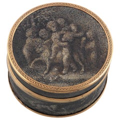 19th Century French Grisaille Box