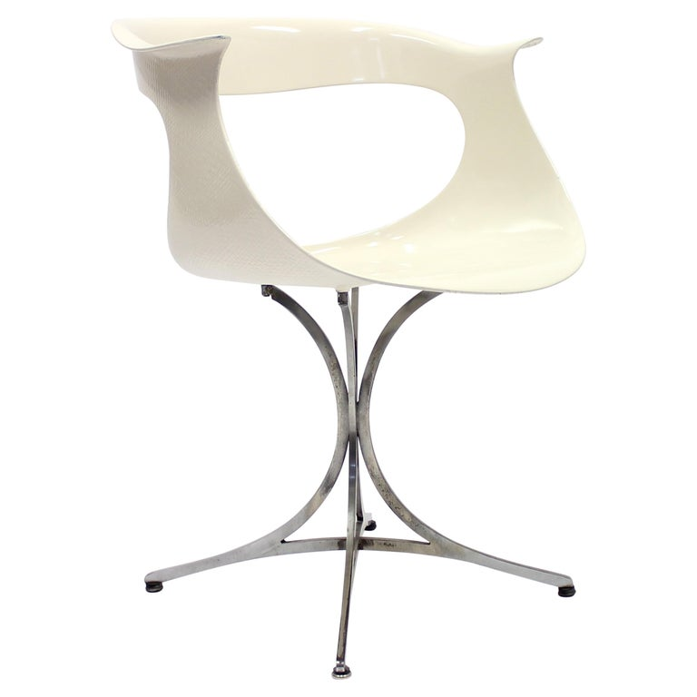 Lotus Chair by Erwine & Estelle Laverne for Laverne International, 1960s For Sale