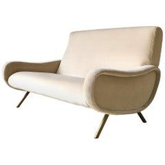 Early Marco Zanuso Designed Two Seater Sofa, circa 1950