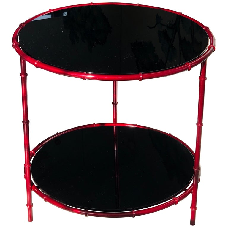 Asian Inspired Side Tables For Sale