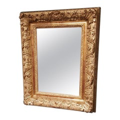 Early 20th Century Mirror in a Capital Gilded Frame