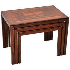 1960s Danish Wood Nest of Tables
