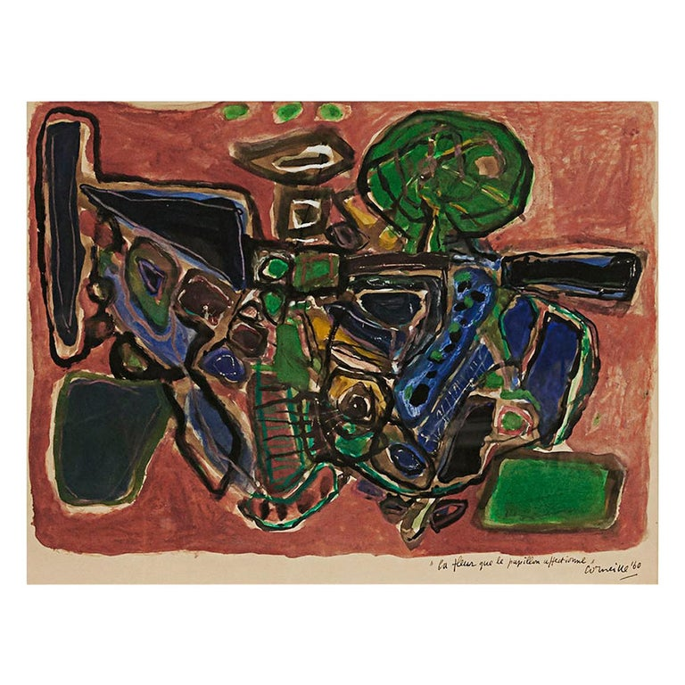 Corneille 'COBRA' Painting For Sale