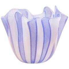 Fazzoletto Handkerchief Vase by Fulvio Bianconi for Venini
