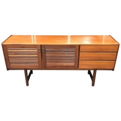 British Midcentury Teak Sideboard by Tom Robertson for A.H. McIntosh
