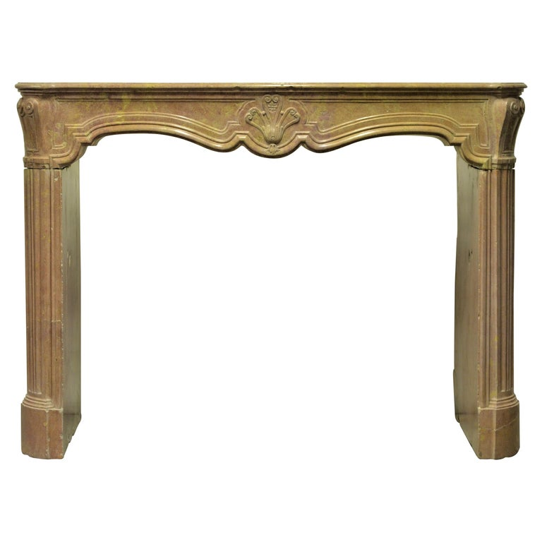 Antique Fireplace Mantel For Sale